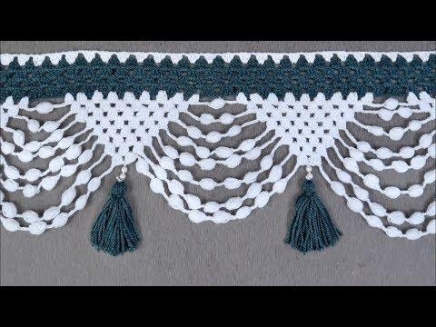 Fancy Crochet Pattern | How to make Door Hanging Toran from Woolen Handmade Door Hanging Toran
