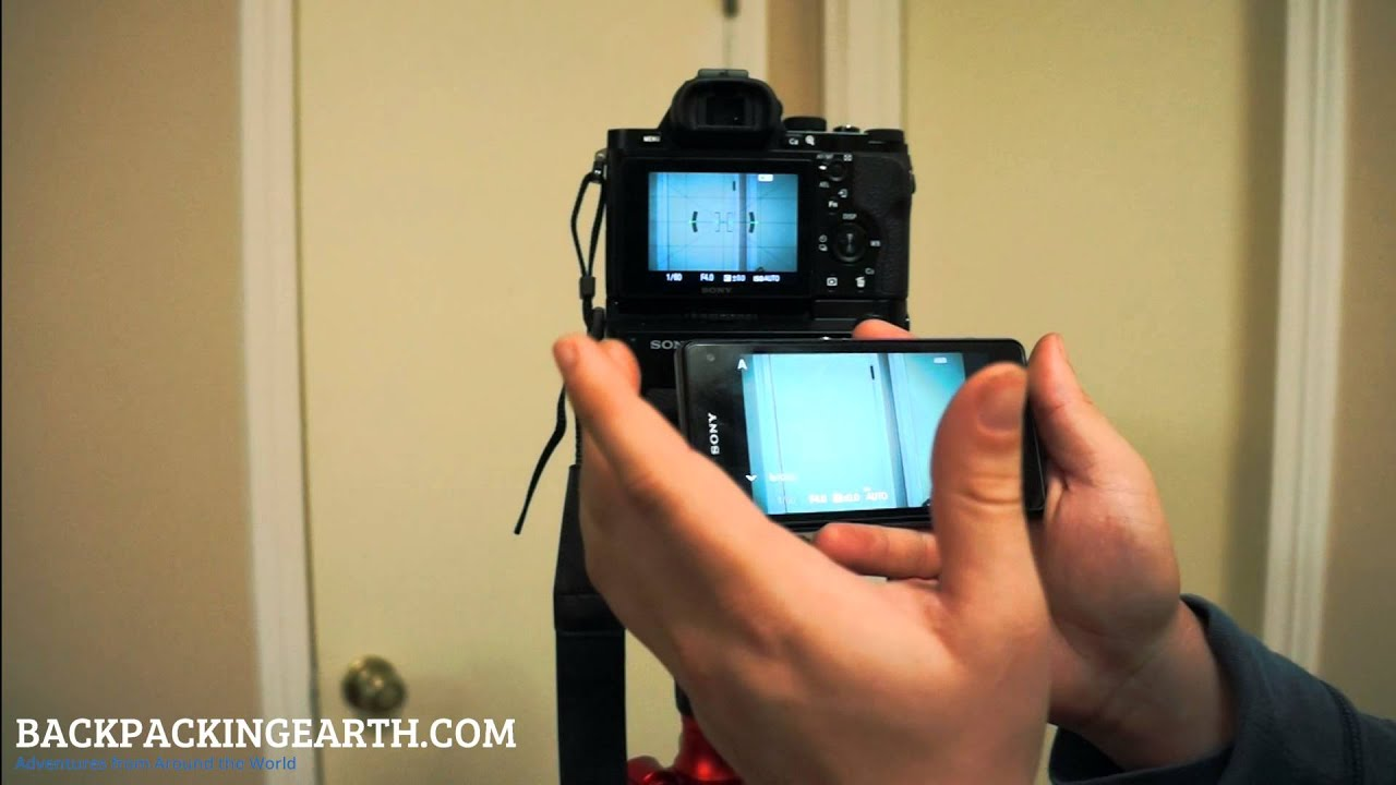 Sony Smart Remote Control App For Sony A7 And A7r Youtube
