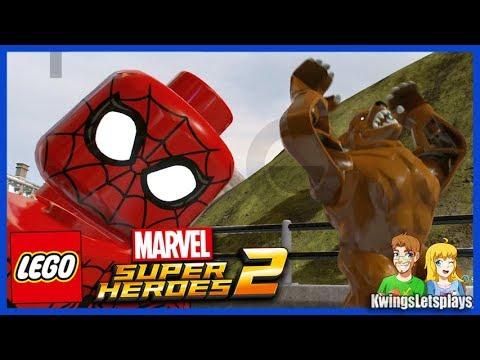 Lego Marvel Super Heroes 2 - Free Roam Adventures Part 7 Aunt May's Major Problem