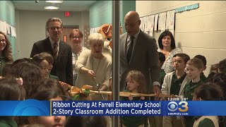 Philadelphia School District Celebrates Expansion At Farrell Elementary School