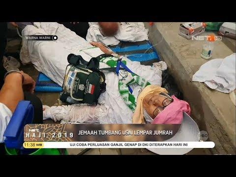 Puluhan Jemaah Haji Indonesia Tumbang Usai Lempar Jumrah Karena Kelelahan - Warna Warni