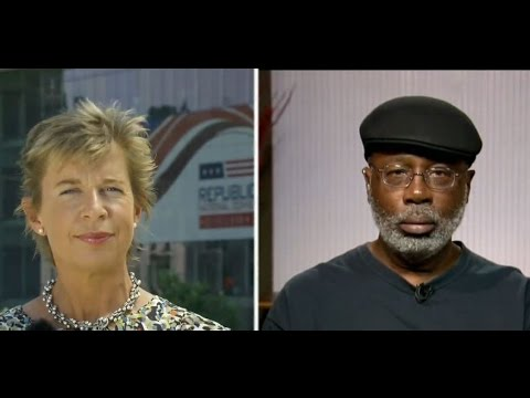 Black Lives Matter vs. Blue Lives Matter: Carl Dix debates Katie Hopkins