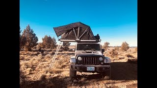 Jeep Car Camping Overland Style - Lost Bunker Found