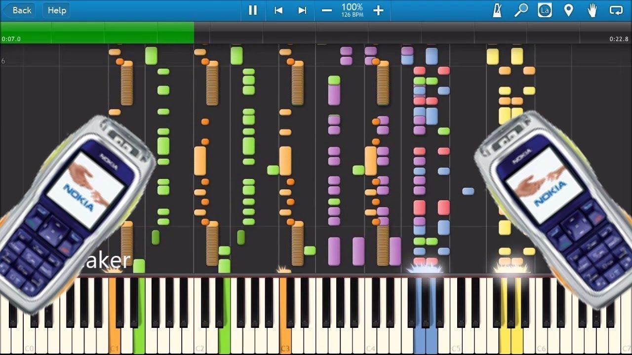 Nokia 3220 ringtones in synthesia youtube.
