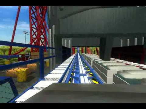 RCT3-MOST REALISTIC Batman And Robin: The Chiller Recreation