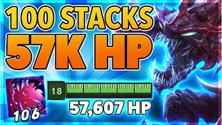 *57K HP* I PERMINENTLY TANK NEXUS FOUNTAIN (WORLD RECORD 100+ STACKS) - BunnyFuFuu