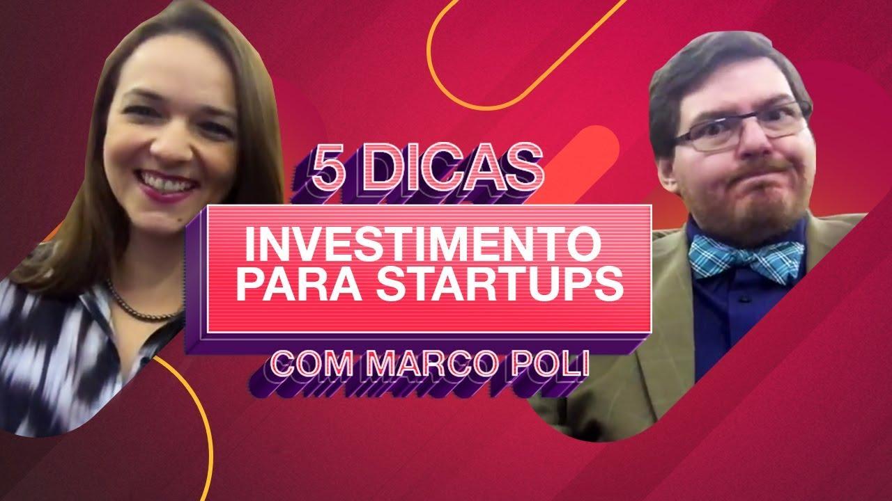 05 dicas de Investimento para Startups - Ft. Marco Poli - YouTube 4bf52a3776