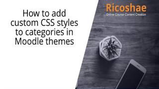 كيفية إضافة أنماط CSS إلى فئات في موودل - ricoshae.com.الاتحاد الافريقي