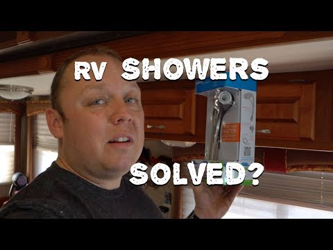 End the Terrible RV Shower For Good?