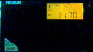 Radio Koper Capodistria, 1170 kHz