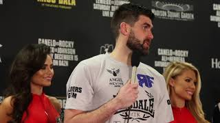 ROCKY FIELDING (FULL) POST FIGHT PRESS CONFERENCE / CANELO v ROCKY (MADISON SQUARE GARDEN, NY)