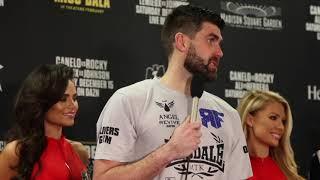 ROCKY FIELDING (FULL) POST FIGHT PRESS CONFERENCE / CANELO v ROCKY (MADISON SQUARE GARDEN, NY)
