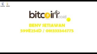 Cara membuat Account Bitcoin (BTC)