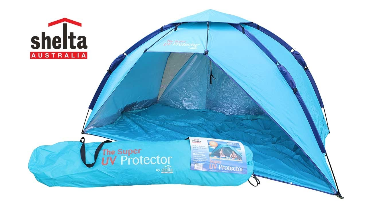 Super UV Protector Beach Tent  sc 1 st  YouTube & Super UV Protector Beach Tent - YouTube