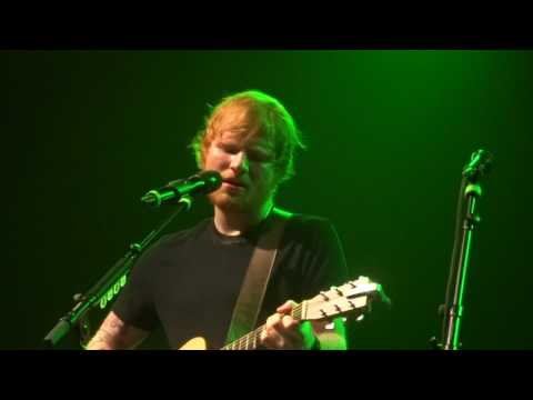 Ed Sheeran - Grade 8/Lighters Up/Drunk/Homeless @ Le Bataclan, Paris 27/11/14