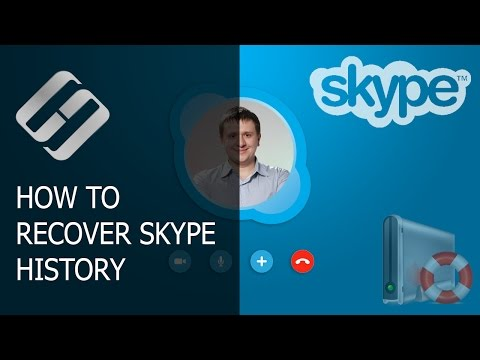 How To Restore Deleted History, Sent Files, Contacts And Password In Skype ⚕️💬🔑