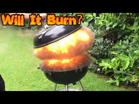 MUSHROOM CLOUD!! Burning Headphones -Will It Burn #36