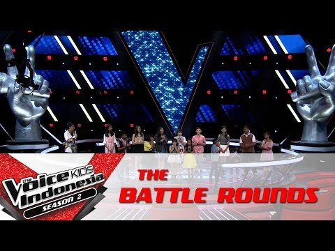 Ternyata 'Coach Save' Team Tulus Adalah.. | Battle Rounds | The Voice Kids Indonesia S2 GTV 2017