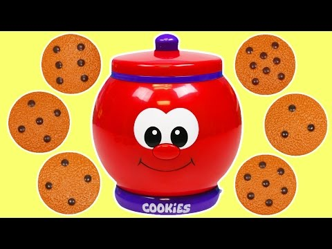 Count and Learn Cookie Jar | Learn Numbers Kids Learning Game