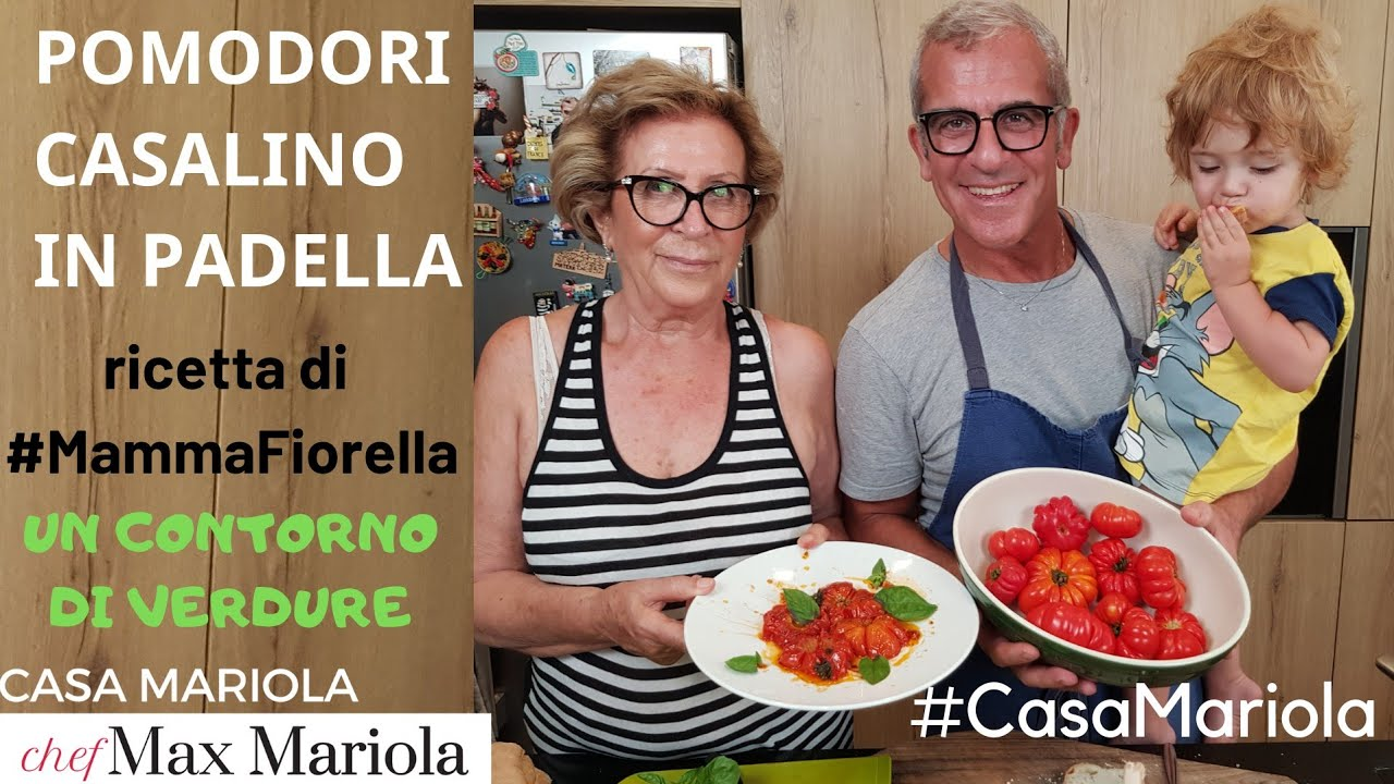 Pomodori Casalino In Padella Eng Sub Pan Fried Tomatoes Youtube