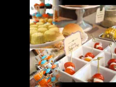 simple 1st birthday party food ideas youtube