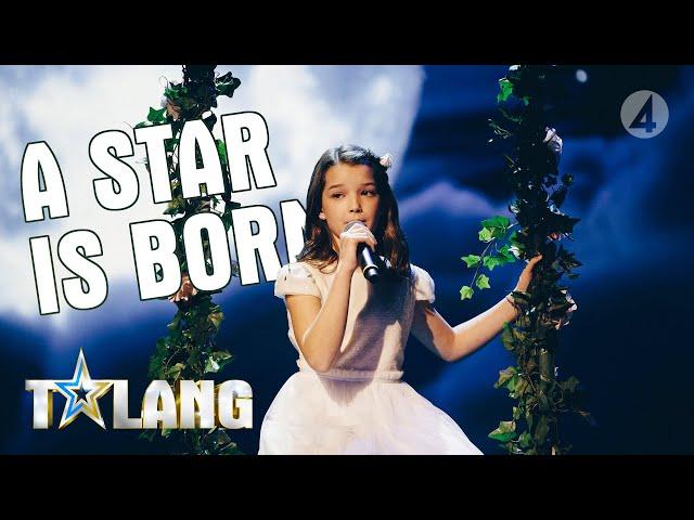 """Eva framför en berörande version av Shallow från """"A star is born""""  - Talang (TV4)"""