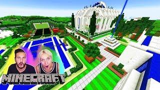 MEGA REDSTONE HAUS LUCKY BLOCK BATTLE! Nina + Kaan bringen Minecraft zum Abstürzen! #KaNiZocken