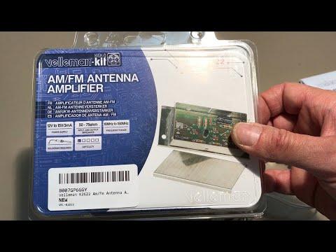Velleman AM/FM Amplifier Kit | Does it work?