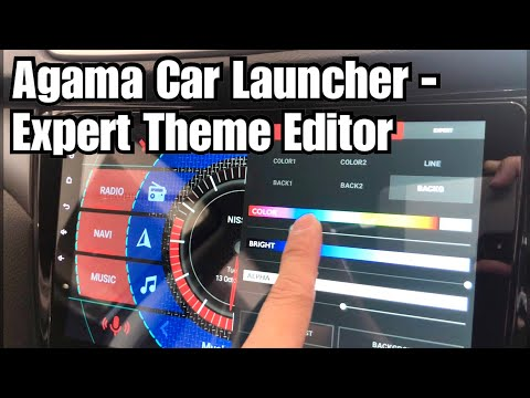 Customize Your Own Theme On Agama Car Launcher