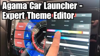 Customize Your Own Theme On Agama Car Launcher screenshot 5