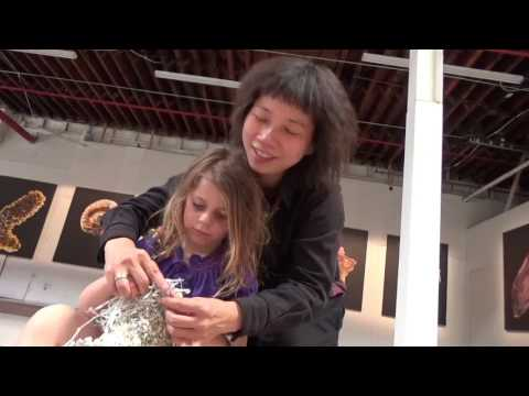 Knitting Conversations with Movana Chen at 14th Factory