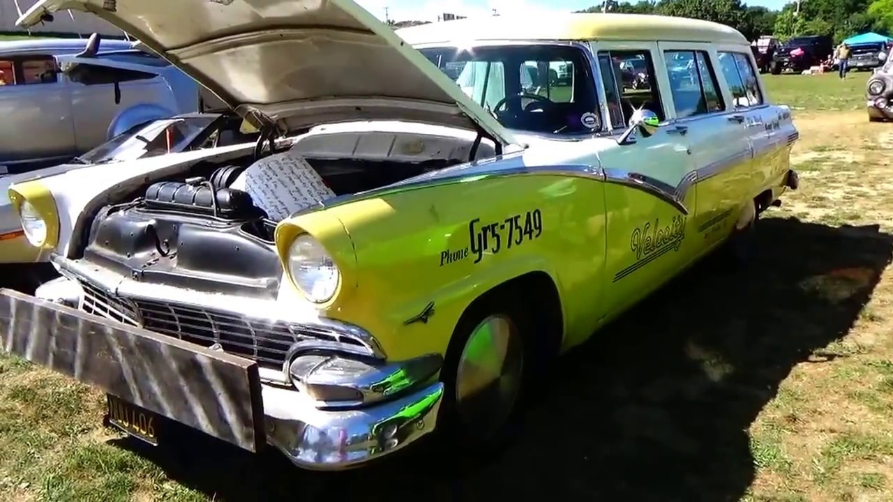 A 1956 Old Ford Station Wagon - YouTube