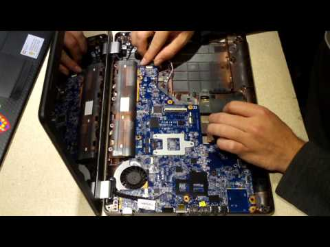 Upgrading the CPU on a Compaq Presario CQ56 Laptop
