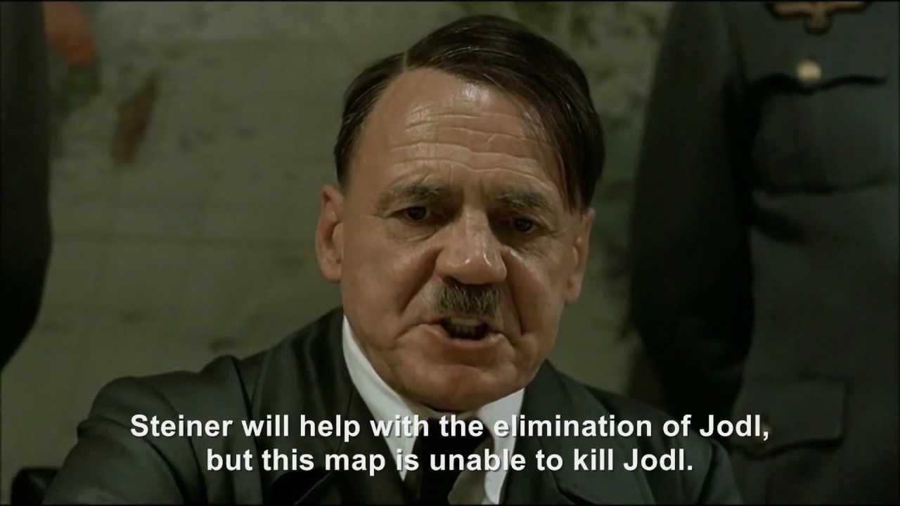 Hitler plans to have Jodl eliminated