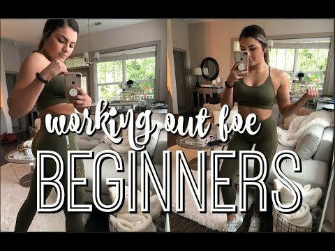 WORKING OUT FOR BEGINNERS & WHAT TO EXPECT + ABS WORKOUT