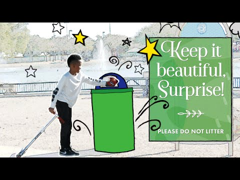 Keep It Beautiful Surprise • Pick up Trash video thumbnail