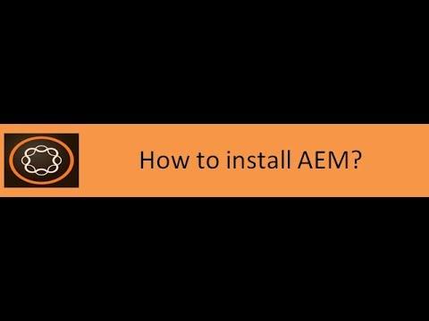 3. AEM Installation
