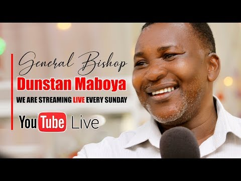 Ibada ya pasaka - Apostle Maboya - katika kanisa la Jesus Power Miracle Centre - 1
