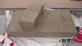 Cutting Roxul (Rockwool) for ceiling install - FASTEST!!