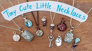 Cute Little Tiny Necklaces - Eps 156