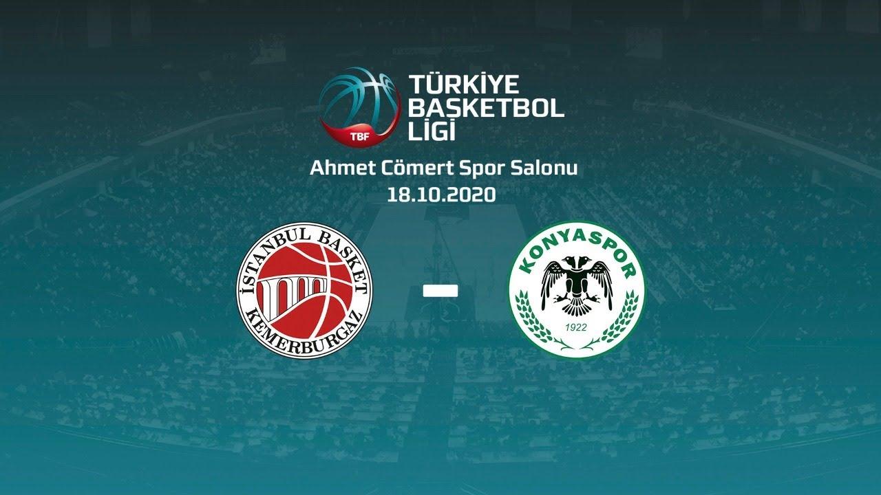 İstanbul Basket – Büyükşehir Hastanesi Konyaspor Basketbol TBL 1.Hafta