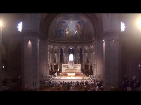 Première messe des jeunes prêtres de Paris ordonnés le 24 juin 2017