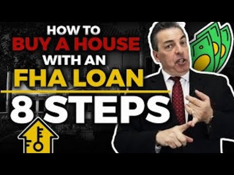 [FHA] FHA loan | Whole FHA loan process explained | FHA Mortgage Loan