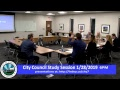 City Council Study Session 1-28-2019