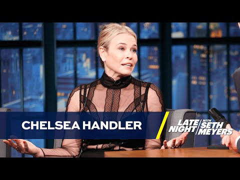 Chelsea Handler Is a Big Tinder Fan