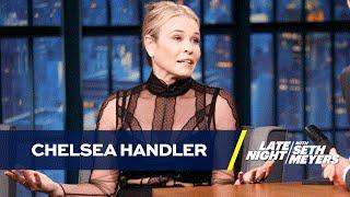 Chelsea Handler Is a Big Tinder Fan