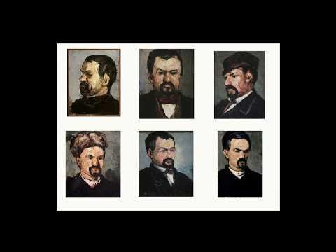 Portraits de Cézanne. Conférence inaugurale