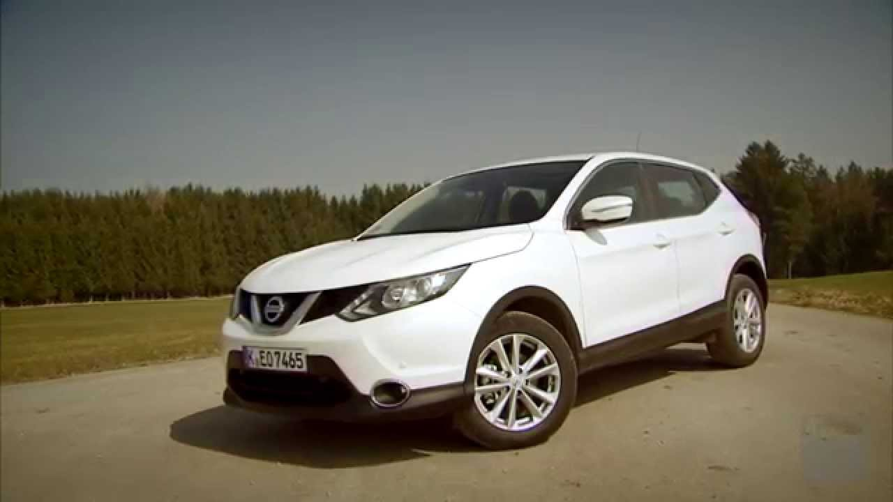 nissan qashqai 1 5 dci im test autotest 2014 adac youtube. Black Bedroom Furniture Sets. Home Design Ideas