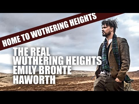 The Real Wuthering Heights  Emily Bronte  Haworth