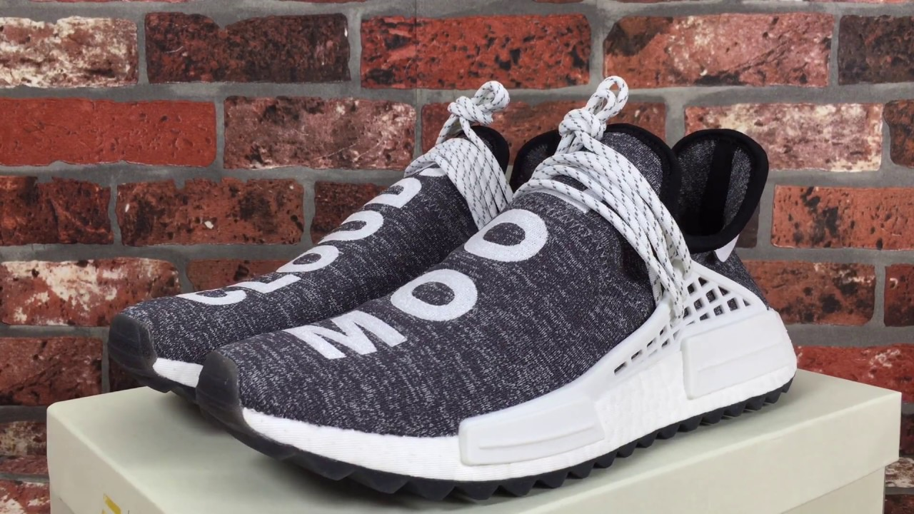 47c2bbda1 Adidas X Pharrell Williams NMD Human Race Mood Cloud from SneakerShoeBox.NET